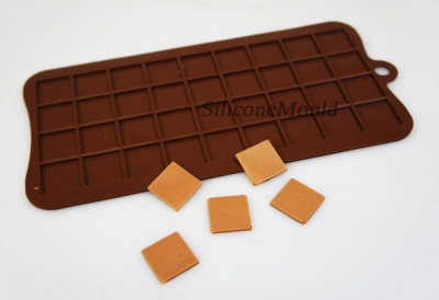2cm Squares Pixels Tile Mosaic Silicone Mould Cake Chocolate Minecraft Decoration Edible
