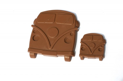 4+1 Camper Van Chocolate Collection Silicone Baking Mould