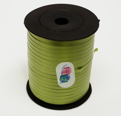 OLIVE Curling Ribbon - 5mm wide 500 metres - Perfect for Gift Wrapping Presents