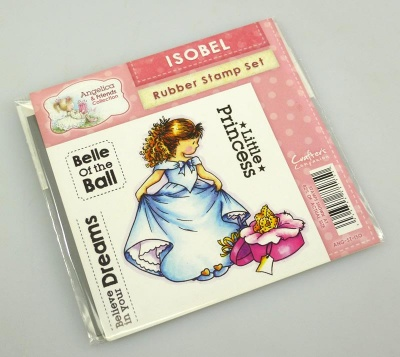 Angelica and Friends - ISOBEL Rubber Stamp Set (Crafters Companion)