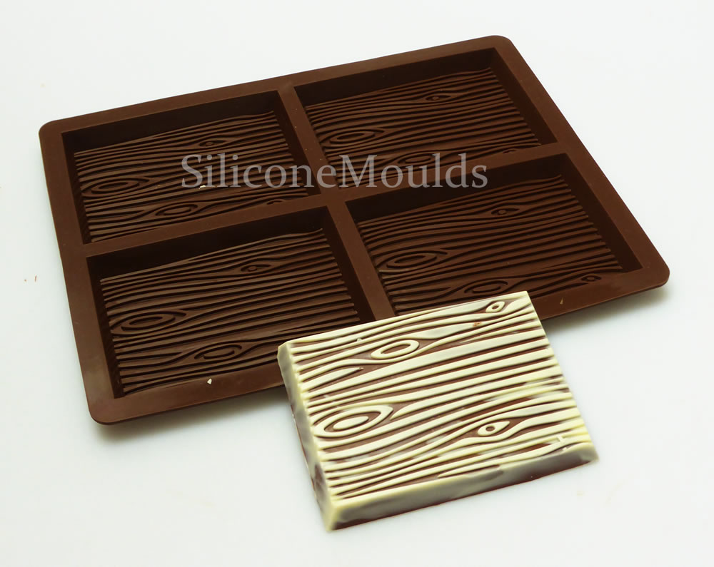 how to make chocolates in silicone molds