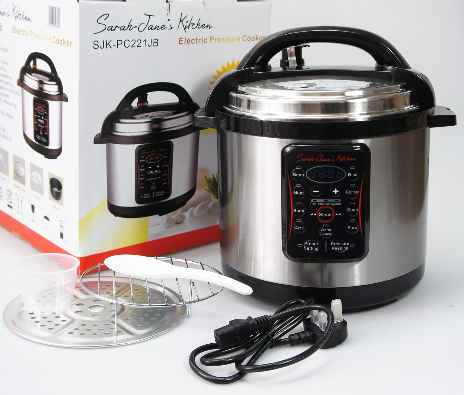 Sarah Jane S Kitchen Pressure Cooker
