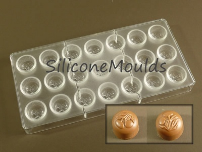 24 cell Cherries Blossom - Professional Quality Polycarbonate Chocolate Mould