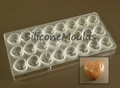 24 cell Romance - Professional Quality Polycarbonate Chocolate Mould