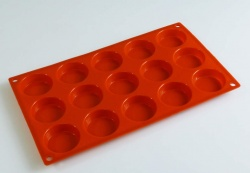 15 Mini Cakelet / Petit Fours Silicone Cake Baking Mould