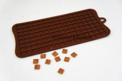 1cm Squares Pixels Tile Mosaic Silicone Mould Cake Chocolate Topper Minecraft Cupcake
