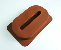 LARGE NUMBER 0 - Birthday Cake Silicone Baking Mould