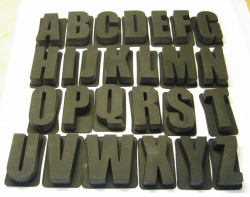 Full Set of 26 Alphabet Letters - Say It With Cake