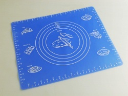 300 x 350mm Blue Silicone Pastry / Work Mat - Rolling / Fondant / Sugarcraft
