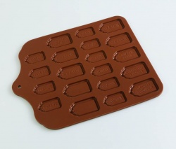 Small Size Edible Chocolate Gift Tag Mould