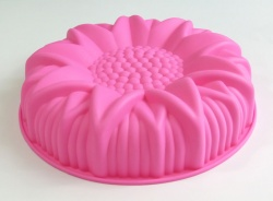 Large Sunflower Birthday Cake Silicone Baking Mould - Clearance