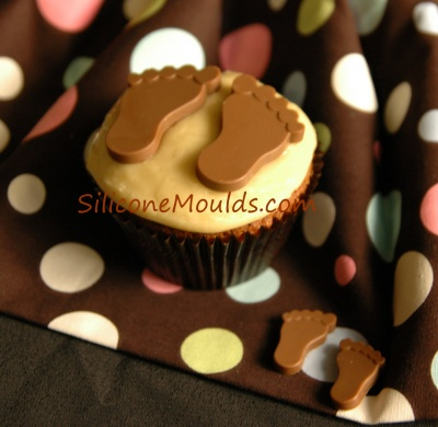 BABY FEET Chocolate Collection Silicone Bakeware Mould