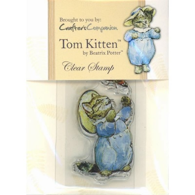 Beatrix Potter Acrylic Stamp - Tom Kitten - Paper / Card Crafting