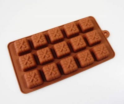 15 Chocolate Gift / Parcel Silicone Chocolate Mould