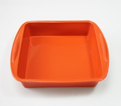 8 inch / 200mm SQUARE Silicone Cake Baking Mould / Tray Bake