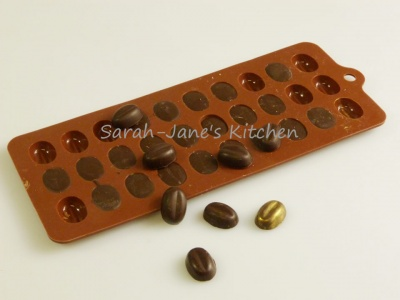 Coffee Beans - Chocolate Collection Silicone Bakeware Mould