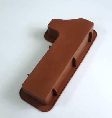 LARGE NUMBER 1 - Birthday Cake Silicone Baking Mould