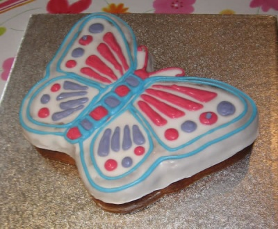 Large Butterfly - Silicone Cake Baking Mould - Ideal for Birthdays
