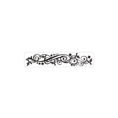 FLOURISH - Large Borders Embossing Folder 2.5 x 12 inches - by Darice