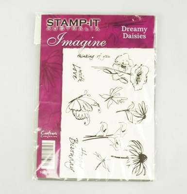 Stamp It Australia - DREAMY DAISIES - A5 Unmounted Rubber  Paper Craft Stamp Set