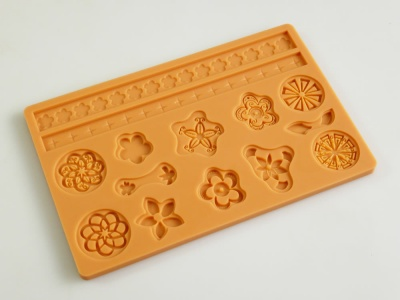 EMBELLISH Sugarpaste Silicone Cake Decorating Push Mould - CLEARANCE