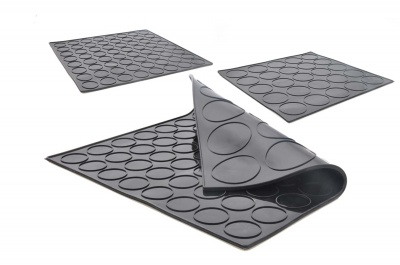 The Revolutionary Double Sided Macaron Mat - Silicone Baking Mat