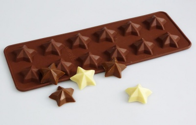 Our Magic Stars ! -  Chocolate Collection Silicone Mould
