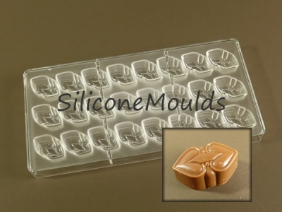 24 cell Celtic Hearts - Professional Quality Polycarbonate Chocolate Mould