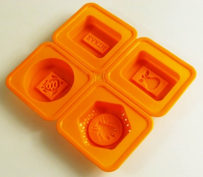 Set 10 - BEE / PEAR - Silicone Soap Mould (Melt and Pour or Cold Process)