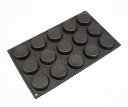 15 Mini Cakelet / Petit Fours Silicone Cake Baking Mould - 21mls volume