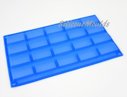 20 cell Sample Size / Mini Bar  Silicone Chocolate Mould Baking