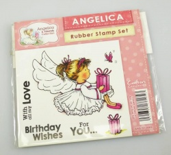 Angelica and Friends - ANGELICA Rubber Stamp Set (Crafters Companion)