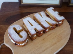 C A K E (word) Silicone Cake Baking Mould - CLEARANCE / SLIGHT SECONDS