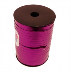 METALLIC CERISE Curling Ribbon - 5mm wide 250 metres