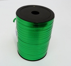 METALLIC EMERALD GREEN Curling Ribbon - 5mm wide 250 metres