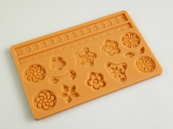 EMBELLISH Sugarpaste Silicone Cake Decorating Push Mould