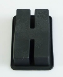 Letter H - From our Say it With Cake Range - Silicone Baking Mould