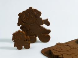 6+1 Dolls / Rag Doll Chocolate / Candy Silicone Baking Mould ©SJK