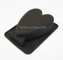4.5'' / 115mm Standing / Trophy Heart - Matches Alphabet Letter Moulds