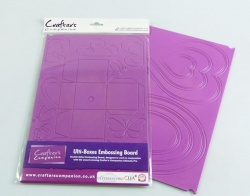 ULTI-BOXES - Mini Box Embossing Board by Crafter's Companion