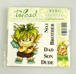 Toread Nymphs Rubber Stamp - XERU by Crafter's Companion - Paper Crafting